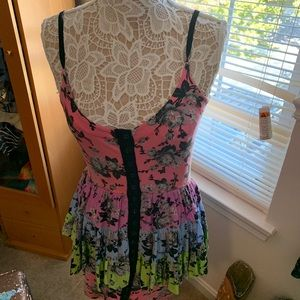 FLORAL betsy johnson dress
